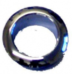 Small Polished Chrome Rosette (1)